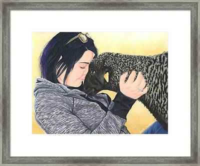 Tayler And Ooby Framed Print by Twyla Francois