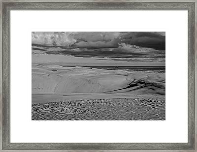 Te Paki Dunes Framed Print by Tiarnan Colgan