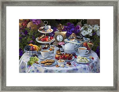 Tea For Two Framed Print by © Simon Kayne
