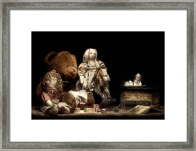 Tea Party Framed Print by Tom Mc Nemar