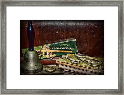Teacher - School Days Framed Print by Paul Ward