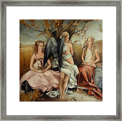 Teaching Mysticism Framed Print by Jacque Hudson