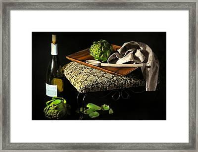 Teak  Framed Print by Diana Angstadt