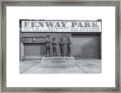 Teammates II Framed Print by Clarence Holmes