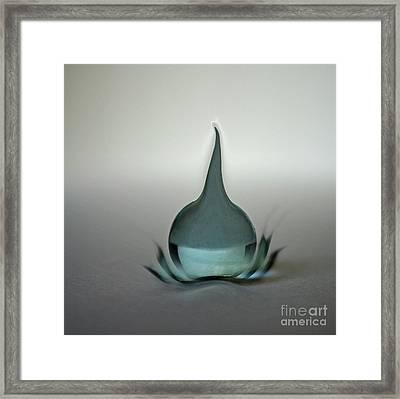 Tear Burst Framed Print by Skip Willits
