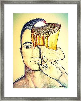 Tear Up The Old Rules Framed Print by Paulo Zerbato