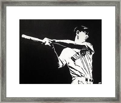 Ted Framed Print by Matthew Formeller