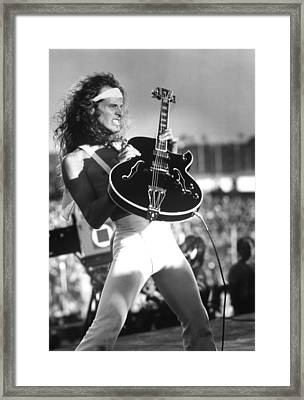 Ted Nugent, Portrait Ca. 1980s Framed Print by Everett