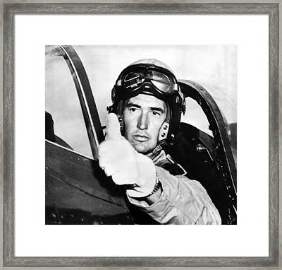 Ted Williams 1918-2002, American Framed Print by Everett
