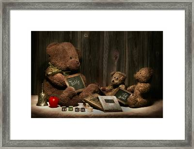 Teddy Bear School Framed Print by Tom Mc Nemar
