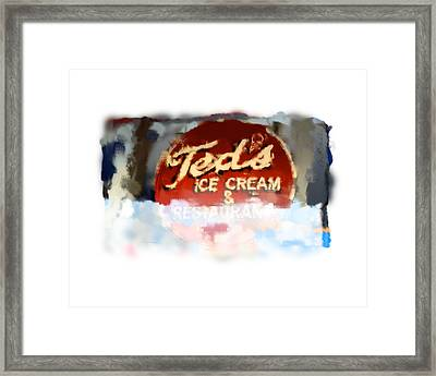 Ted's Framed Print by Geoff Strehlow
