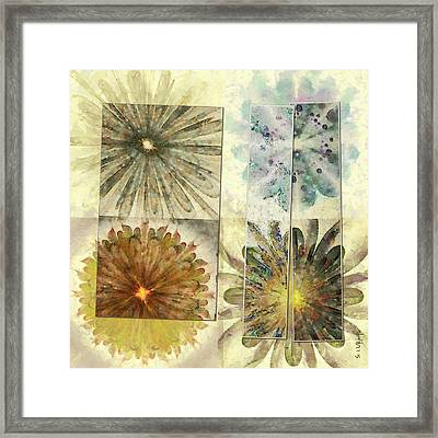 Teliosporiferous Denuded Flowers  Id 16164-224001-81231 Framed Print by S Lurk