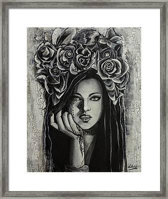 Tell Me More Framed Print by Svetlana Tikhonova
