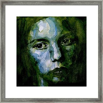 Tell Methere's A Heaven Framed Print by Paul Lovering
