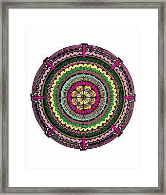 Temblor Framed Print by Elizabeth Davis