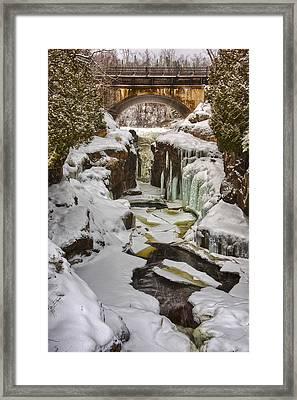 Temperance River Gorge Framed Print by Craig Voth