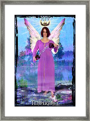 Temperance Framed Print by Tammy Wetzel