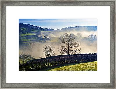 Temperature Inversion Over Troutbeck. Framed Print by Stan Pritchard