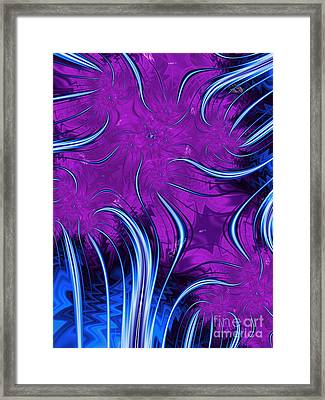 Tendrils Through The Mists Of Time Framed Print by John Edwards