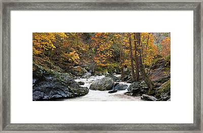 Tennessee Colors Framed Print by Brad Hoyt