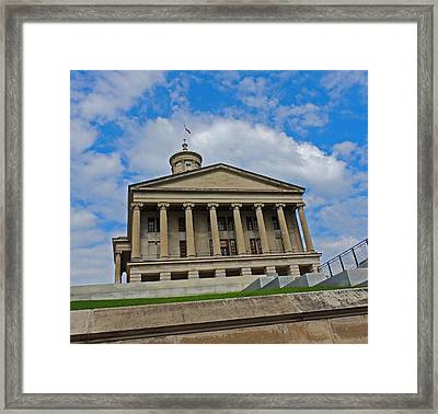 Tennessee State Capitol Building Framed Print by Marian Bell