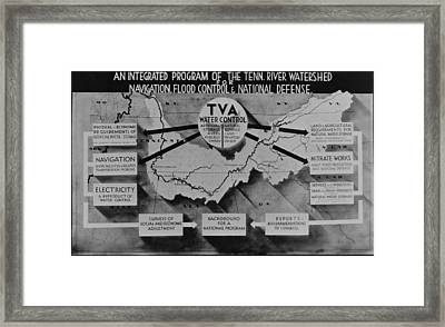 Tennessee Valley Authoritys Framed Print by Everett