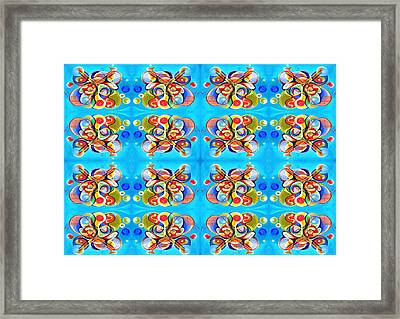 Tennis 2 Framed Print by Ky Wilms