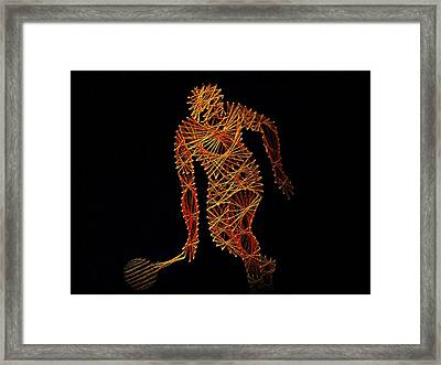 Tennis Framed Print by David Dehner