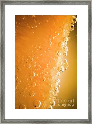 Tequila Sunrise Background Framed Print by Jorgo Photography - Wall Art Gallery