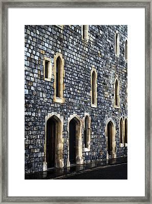 Terraced Houses Framed Print by Joana Kruse