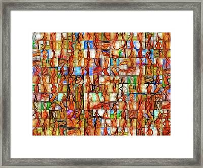 In The Seraglio #13 Framed Print by John Pullicino
