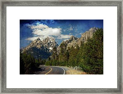 Teton Grande 11 Framed Print by Marty Koch