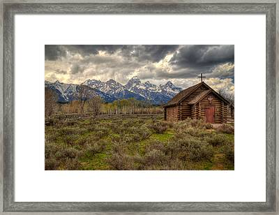 Teton Transfiguration Framed Print by Ryan Smith