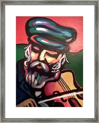 Tevye Framed Print by Stuart Glazer