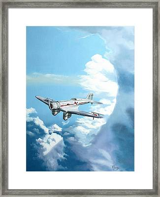 Texaco Sky Chief Framed Print by Kenneth Young