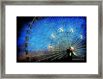 Texas Framed Print by Katya Horner