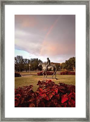 Texas Tech University Framed Print by Ilker Goksen