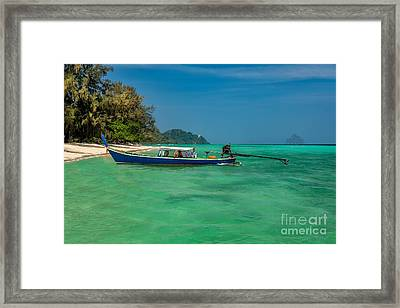 Thailand Vacation Framed Print by Adrian Evans