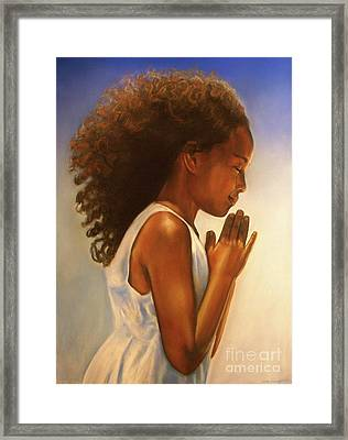 Thanksgiving  Is Everyday Framed Print by Curtis James