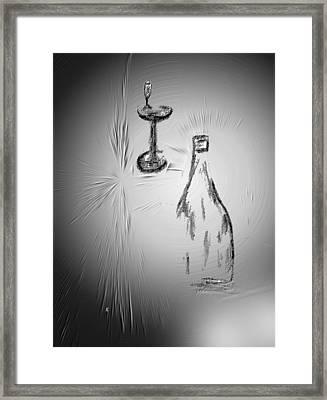 That Was Good Framed Print by John Krakora