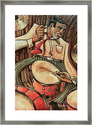 That's Rich Framed Print by Sean Hagan