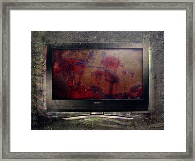 the 7 contemporary sins - Sloth Framed Print by Janelle Schneider