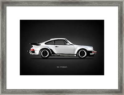 The 911 Turbo 1984 Framed Print by Mark Rogan