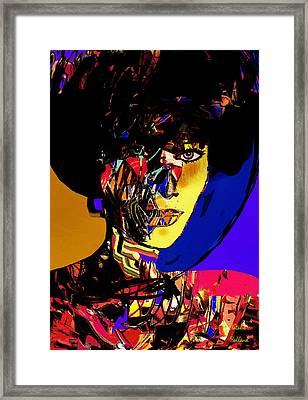 The Abstract Woman Framed Print by Natalie Holland