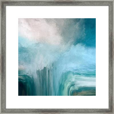 The Abyss Framed Print by LC Bailey