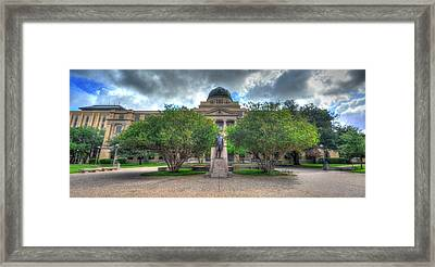 The Academic Building Framed Print by David Morefield
