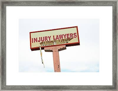 The Accident Framed Print by Joe Jake Pratt