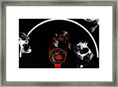 The Admiral David Robinson Framed Print by Brian Reaves