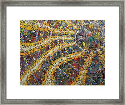 The African Sun Framed Print by Dylan Chambers