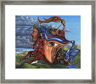 The Aftermath Framed Print by Karen Musick